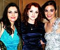 Eimear Lowe, Evanna Lynch and Maria Anastacia Keogh Evanna at IFTA 2011.jpg