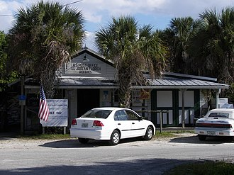 National Register of Historic Places listings in Charlotte County, Florida - Image: El Jobean Post Office and General Store