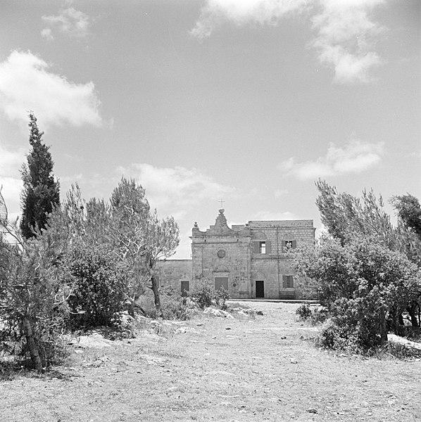 Monasterio en el Monte Carmelo