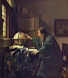 Johannes Vermeer: The Astronomer