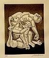 El rey Lear (o La Piedad), Arnold Belkin.jpg