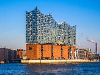 Elbphilharmonie Concert hall in Hamburg, Germany