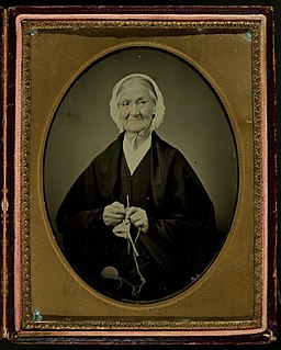 Elderly woman, knitting (3333245715)