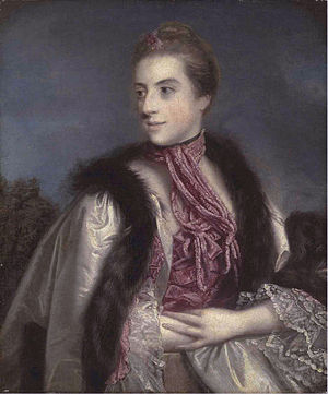Augustus Berkeley, 4th Earl of Berkeley - Elizabeth Drax (Joshua Reynolds)