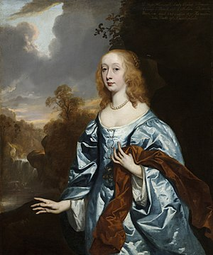 Elizabeth Maitland, Duchess of Lauderdale - Elizabeth Murray, by Sir Peter Lely, circa 1648