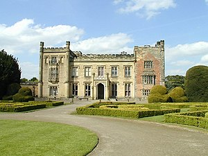 Elvaston Castle - Elvaston Castle today