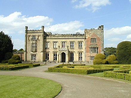 Elvaston Castle, Derbyshire today - the Stanhope family seat as rebuilt c.1817 Elvaston Castle - geograph.org.uk - 6393.jpg