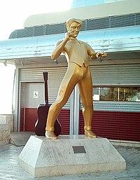 Estátua de Elvis em Jerusalém, Israel