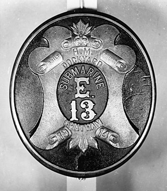 HMS E13 - Image: Emblem of HMS E13