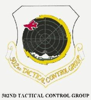 502d Air Operations Group - Image: Emblem of the 502d Tactical Control Group