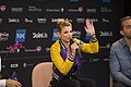 Emma Marrone, ESC2014 Meet & Greet 04.jpg