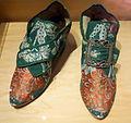 English baroque shoe, possibly from America, c. 1730-1740s - Bata Shoe Museum - DSC00117.JPG