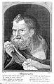 Engraving; portrait bust of Heraclitus, Wellcome L0020717.jpg