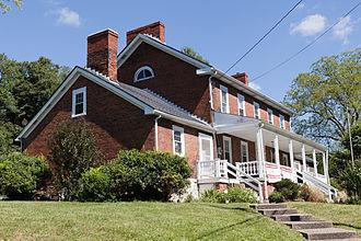 Peters Township, Washington County, Pennsylvania - The Enoch Wright House on Venetia Road
