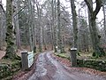 Entrance to Woodend House - geograph.org.uk - 357847.jpg
