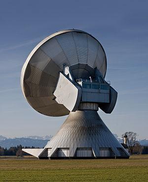 The biggest facility for satellite communicati...