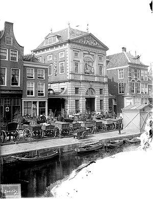 Weigh House (Leiden) - Weigh house, circa 1900