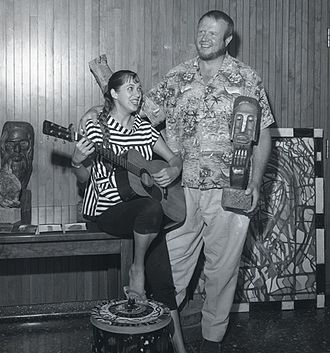 Hungry i - Eric Nord (right, 1959 in Los Angeles)