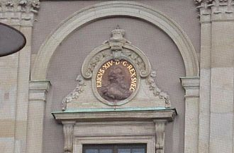 Eric XIV of Sweden - Image of King Eric on a wall of Stockholm Palace.