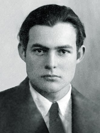 "Big Two-Hearted River - Ernest Hemingway in 1923, two years before the publication of ""Big Two-Hearted River"""