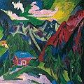 Ernst Ludwig Kirchner - Die Klosterser Berge - 2475 - Österreichische Galerie Belvedere.jpg