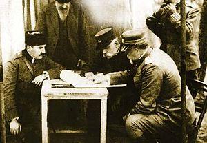Essad Pasha Toptani - Essad Pasha in Salonika