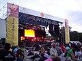 Escenario de la Fiesta Nacional del Sol, predio ferial 2009.jpg