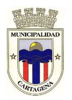 Cartagena, Chile - Image: Escudo