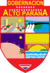 Coat of arms of Alto Paraná Department