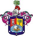 Escudo para Cristobal Rodriguez como hijodalgo conquistador, poblador y Vecino de la Ciudad de Puerto Viejo 30.VII.1538.jpg
