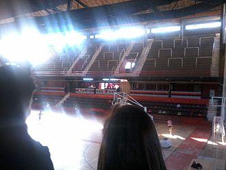 """Estadio Cubierto Newell's Old Boys - Image: Estadio Cubierto """"Dr. Claudio. L. Newell"""""""
