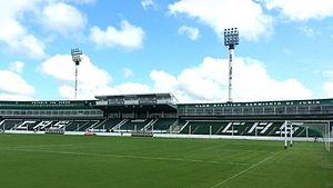 Estadio Eva Perón - Image: Estadio Eva Peron Club Sarmiento de Junin 2