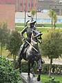 Estatua ecuestre de Pizarro (Lima, Perú) 01.jpg