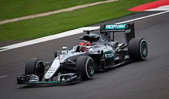 Esteban Ocon - Ocon driving the Mercedes W07 Hybrid