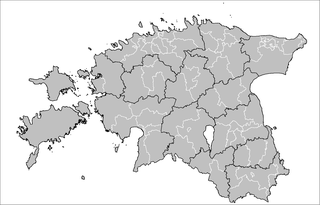 Municipalities of Estonia lowest administrative division in Estonia