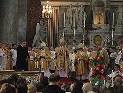 Esztergom - Meszlényi beatification 7.JPG