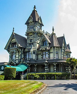 Queen Anne style architecture in the United States Architectural style during Victorian Era