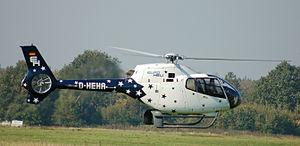 Eurocopter EC120 Colibri - An EC120 hovering, 2010