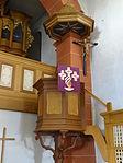 Evangelische Kirche Trais-Horloff Kanzel 01.JPG