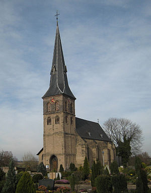 Homberg (Duisburg) - Image: Evangelische dorfkirche duisburg baerl