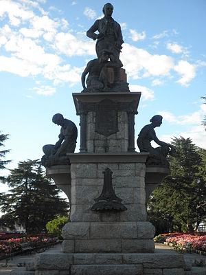 George Evans (explorer) - Evans Memorial, Kings Parade, Bathurst