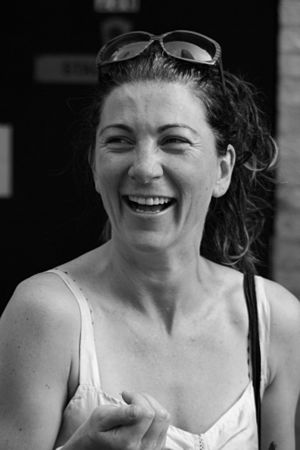 Eve Best - Best, after performing in A Moon for the Misbegotten in New York City, 27 May 2007