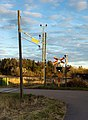 Evening creeping up on the old railroad crossing 2.jpg