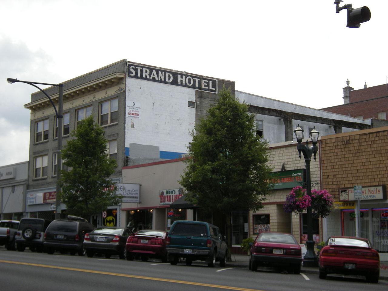 File Everett  Wa - Strand Hotel 01 Jpg