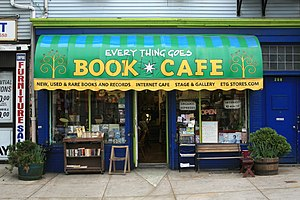 """Ganas - The """"Every Thing Goes Book Cafe"""" on Staten Island"""