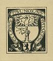 Ex Libris Paul Nicolaus Ratajczak von Rheude 1900.jpg