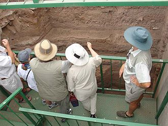 Kingdom of Mapungubwe - Image: Excavations