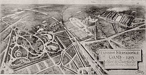 Exposition universelle et internationale (1913) - Panorama of the exposition of 1913 by Armand Heins