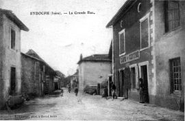 The main road in 1920