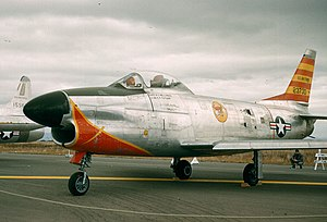 575th Air Defense Group - F-86D of the 575th Air Defense Group's 13th FIS